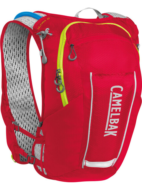 CamelBak Ultra 10 Trinkrucksack Weste Crimson Red/Lime Punch